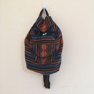 Handbags - Multicolor knit backpack